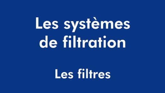 CONTENEUR - TEXTE PP - LES FILTRES