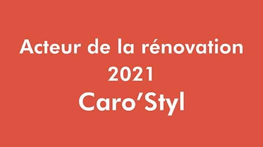Acteur Renovation - Caro Styl