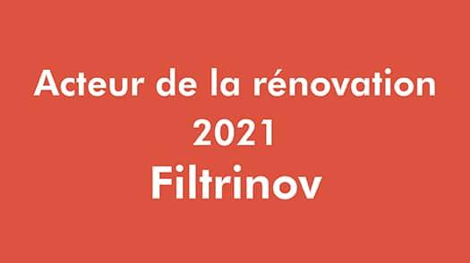 Acteur Renovation - Filtrinov