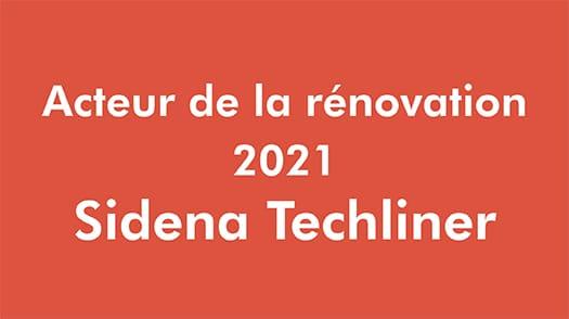 Acteur Renovation - Sidena Techliner